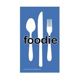 """Foodie"" - Rectangle Decal"