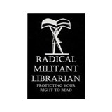 Unique Patriot act Rectangle Magnet (100 pack)