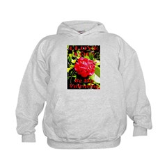 I Love You Be My Valentine II Kids Hoodie