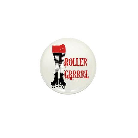 roller grrl leggy Mini Button (10 pack)