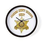Graham County Sheriff Wall Clock