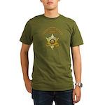 Graham County Sheriff Organic Men's T-Shirt (dark)