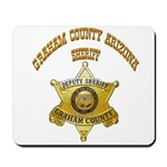 Graham County Sheriff Mousepad
