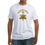Graham County Sheriff Fitted T-Shirt