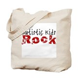 Autistic Kids Rock Tote Bag