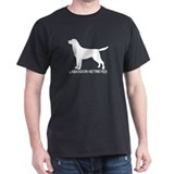 """Labrador Retriever"" - Black T-Shirt"