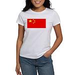 China Chinese Blank Flag Women's T-Shirt