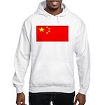 China Chinese Blank Flag Hooded Sweatshirt