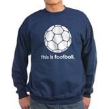 this is football 2 Jumper Sweater