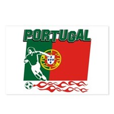 Portuguese soccer Postcards (Package of 8)
