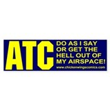 ATC Bumper Sticker (10 pack)