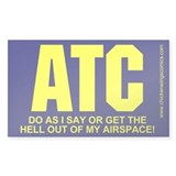 ATC Sticker (Rectangle 50 pack)