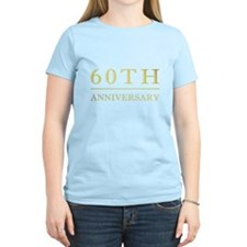 60th Anniversary Gold Shadowed T-Shirt