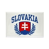Slovakia Rectangle Magnet