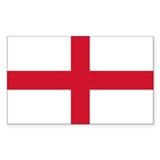 English Flag Decal