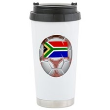 African Soccer Ceramic Travel Mug