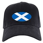 Scottish Flag Black Cap