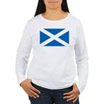 Scottish Flag Women's Long Sleeve T-Shirt