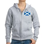 Scottish Flag Women's Zip Hoodie