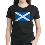 Scottish Flag Women's Dark T-Shirt