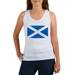 Scottish Flag Women's Tank Top
