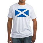 Scottish Flag Fitted T-Shirt