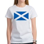 Scottish Flag Women's T-Shirt