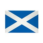 Scottish Flag Rectangle Magnet (100 pack)