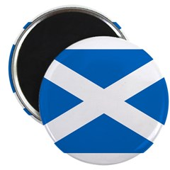 "Scottish Flag 2.25"" Magnet (10 pack)"