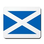 Scottish Flag Mousepad