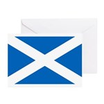 Scottish Flag Greeting Cards (Pk of 20)