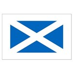 Scottish Flag Large Poster