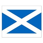Scottish Flag Small Poster