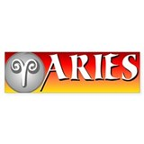 ARIES Bumper Sticker