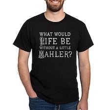 Mahler Music Quote Dark T-Shirt