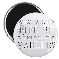 Mahler Music Quote Magnet