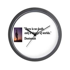 There is no death Wall Clock