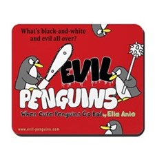 Evil Penguins Mousepad