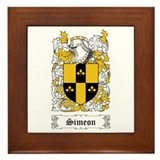 Simeon Framed Tile