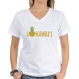 I Love Hawai'i Pineapple Heart Shirt