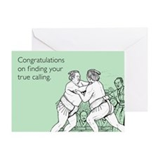 True Calling Greeting Card