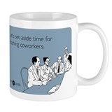 Trashing Coworkers Small Mug
