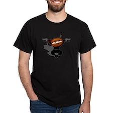 Ninja Barista Jumping T-Shirt
