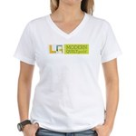 LAMQG Women's V-Neck T-Shirt