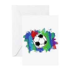 Soccer Fan Greeting Card