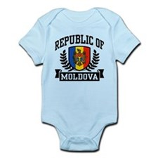 Republic of Moldova Infant Bodysuit