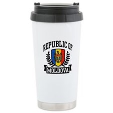 Republic of Moldova Ceramic Travel Mug