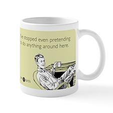 Stopped Pretending Mug