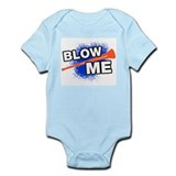 Vuvuzela Blow Me Soccer Shirt Infant Bodysuit