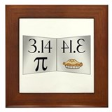 PI 3.14 Reflected as PIE Framed Tile